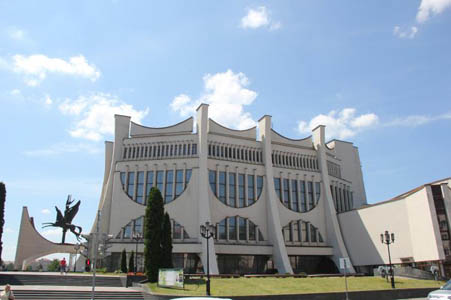 Драмтеатр в Гродно